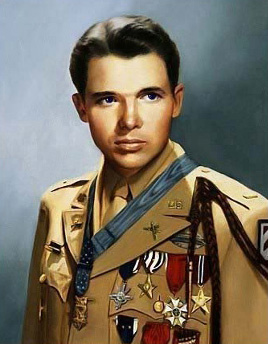 Audie Murphy, WW II