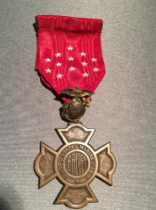 Marine Corps Brevet Medal front